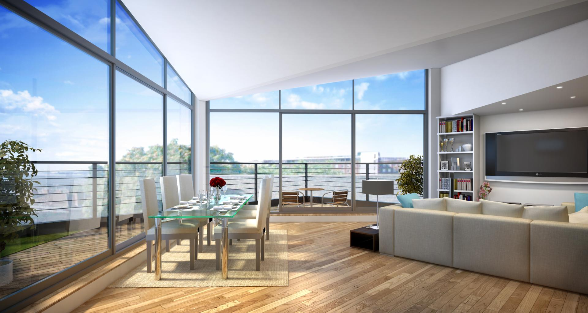 Glass Apartments London For Sale